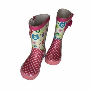 Other - Little girls rain boots. Size 5-6.